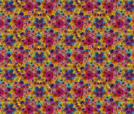 Small Flowers fabric by coloroncloth on Spoonflower - custom fabric