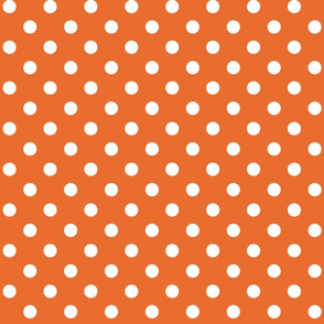 Clown dots_orange