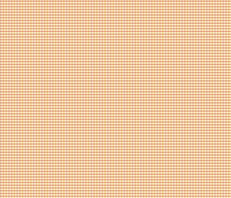 Melon Gingham fabric by marlene_pixley on Spoonflower - custom fabric