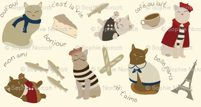 (Small) French Cats in Paris