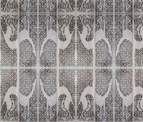 deerhound stretch fabric by wicked_imp on Spoonflower - custom fabric