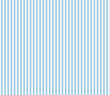 Blue sky stripe fabric by chulabird on Spoonflower - custom fabric