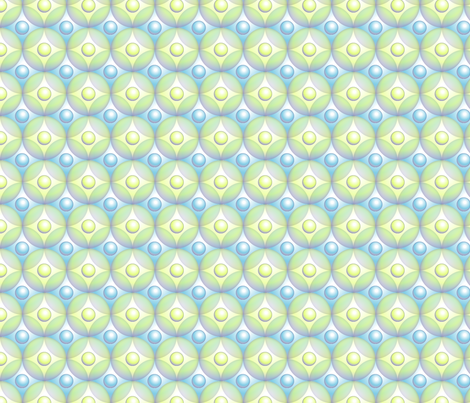 ©2011 Bubblewraps fabric by glimmericks on Spoonflower - custom fabric