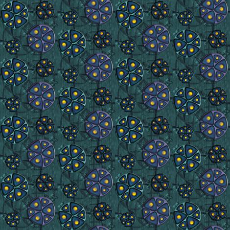 ©2011 Triple Widget fabric by glimmericks on Spoonflower - custom fabric
