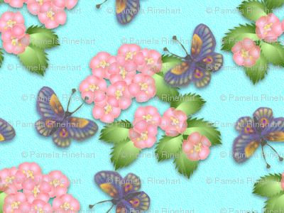 ©2011 Cherry Blossom and Butterflies