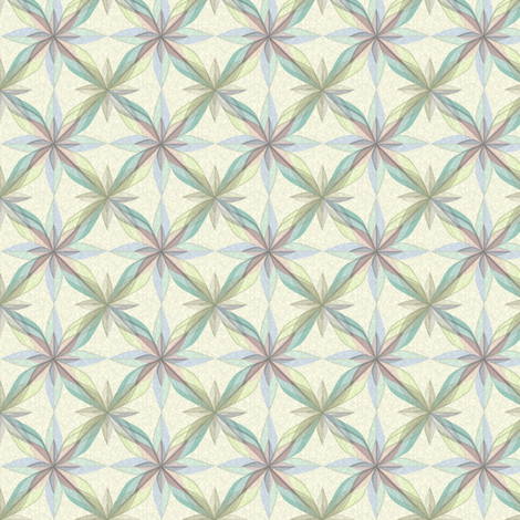 ©2011 Delft Rose Pencil fabric by glimmericks on Spoonflower - custom fabric