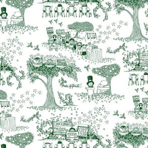 Teach Your Children Well: A Toile for Tots