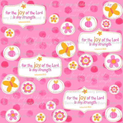 For the Joy of the Lord is my Strength