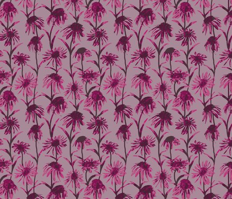 Rflowers_and_leaves_pink_painted_tile_8by8_shop_preview