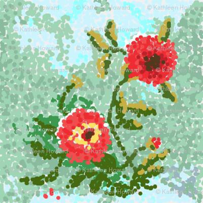 dots  dahlias_Picnik_collage