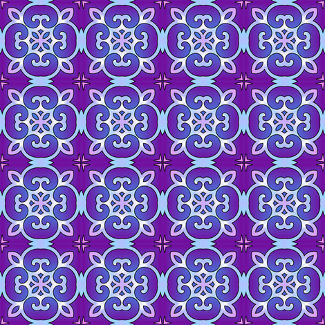 Celestial- night fabric by shala on Spoonflower - custom fabric