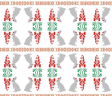 rabbit fabric by andreysoldatenko on Spoonflower - custom fabric
