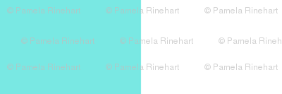 turquoise white 1 inch stripe