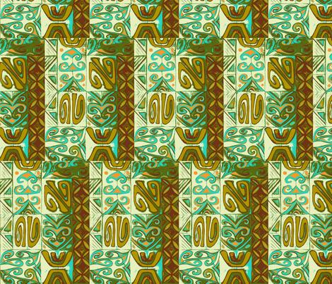Mod-pa    driftwood fabric by sophista-tiki_by_dawn_frasier on Spoonflower - custom fabric