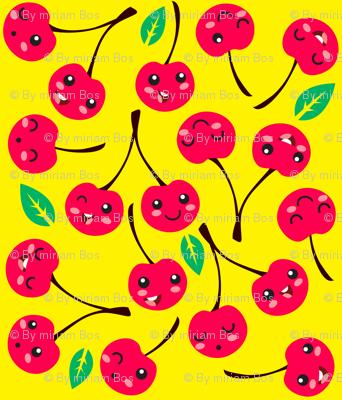 Happy Cherries (red)