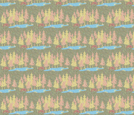 The Point of Nature fabric by tracydb70 on Spoonflower - custom fabric