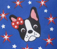 Red, white, blue and Dottie too!