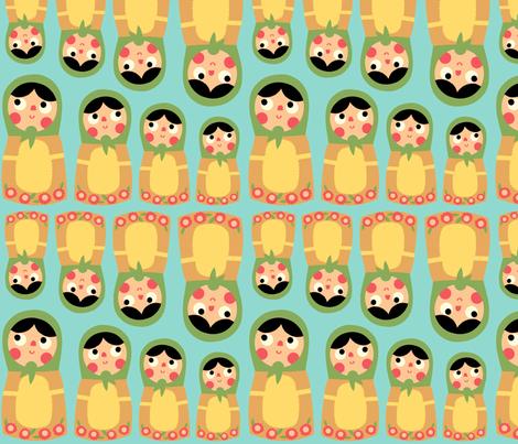 nesting fabric by heidikenney on Spoonflower - custom fabric