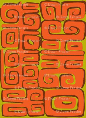 Abstactiva, Matuku, orange