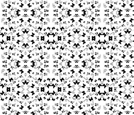 butterfly swirl fabric by petrie on Spoonflower - custom fabric