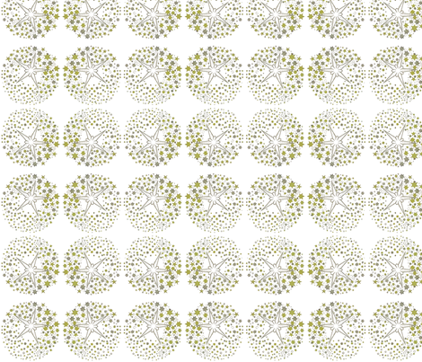 Star circle 1 fabric rockpaperfabric design spoonflower for Star design fabric