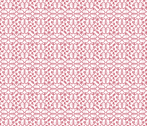 Orderly Rabbits 2011 fabric by ninjacrepes on Spoonflower - custom fabric