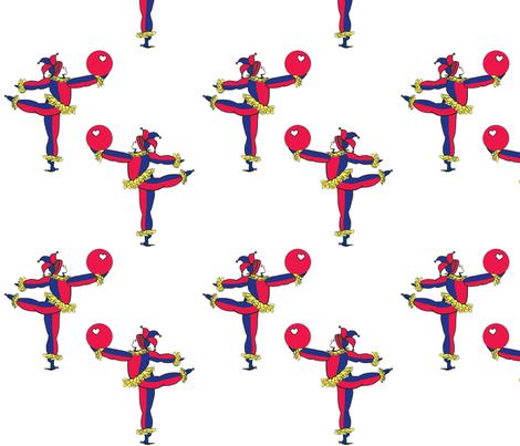 Jester-01-pattern fabric by denisedian on Spoonflower - custom fabric