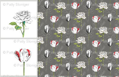 Botanical Pillows and Bonus Fabric
