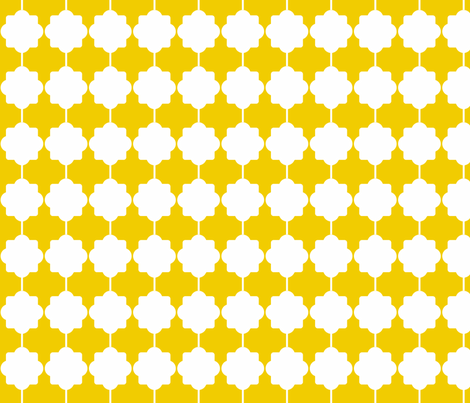 quatre gold fabric by ninaribena on Spoonflower - custom fabric