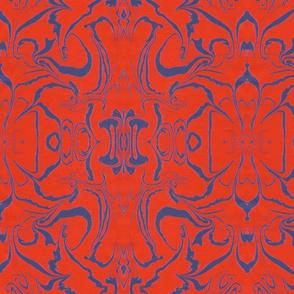 Retro Marbled Design