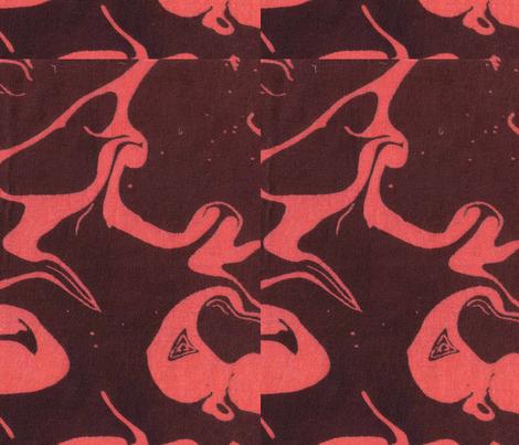 Retro Marbled Design 3 fabric by katehasteddesigns on Spoonflower - custom fabric