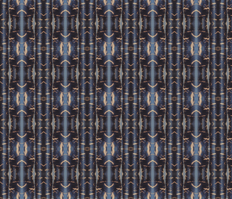 Indigo Stripe fabric by katehasteddesigns on Spoonflower - custom fabric