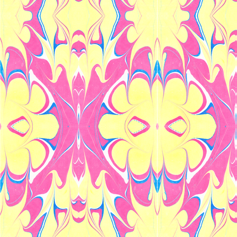 Funky Summer Bright fabric by katehasteddesigns on Spoonflower - custom fabric