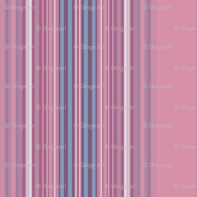 Pink and Blue Stripe © 2009 Gingezel™ Inc.