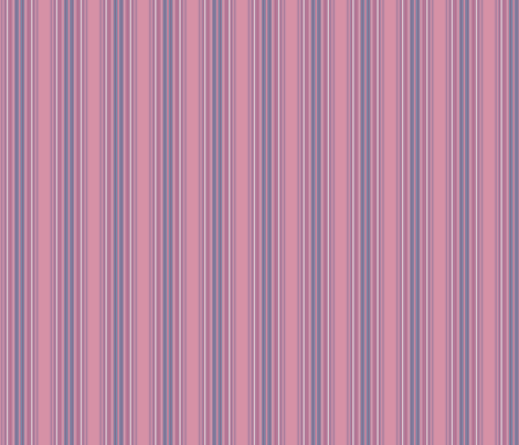 Pink and Blue Stripe © 2009 Gingezel™ Inc. fabric by gingezel on Spoonflower - custom fabric