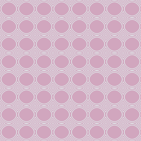 Ice Cream Parlor Circles in Pink © 2009 Gingezel™ Inc. fabric by gingezel on Spoonflower - custom fabric