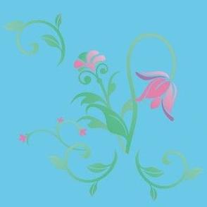 Cottage Garden Floral © 2011 Gingezel™ Inc.