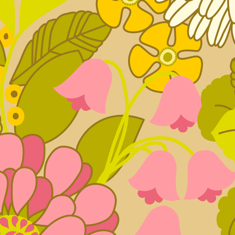 Ortrud C Large fabric by helena on Spoonflower - custom fabric