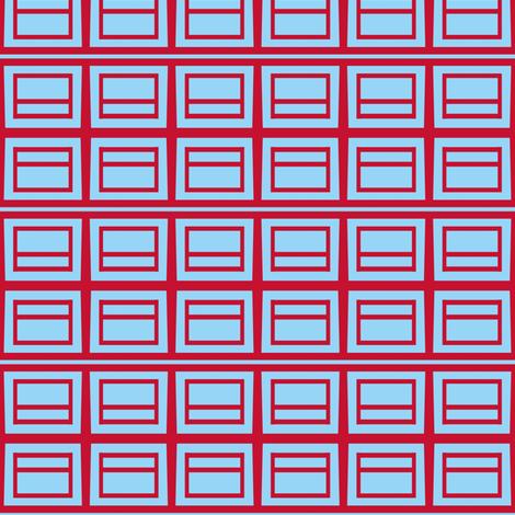 Postal Grid fabric by boris_thumbkin on Spoonflower - custom fabric