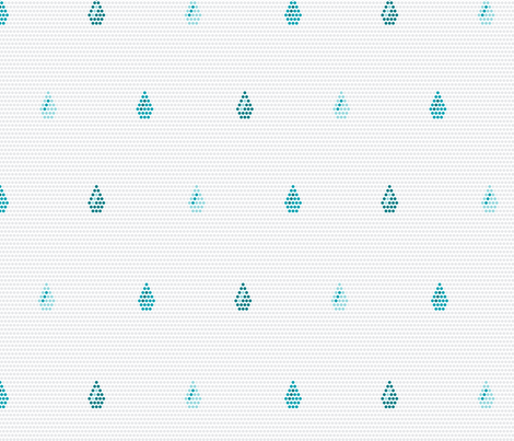 Rain Dots fabric by modgeek on Spoonflower - custom fabric