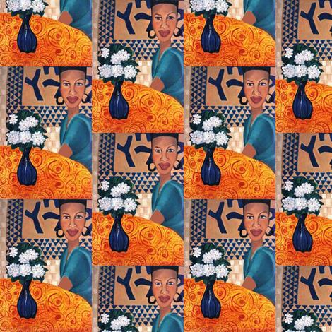 Gardenias fabric by susaninparis on Spoonflower - custom fabric