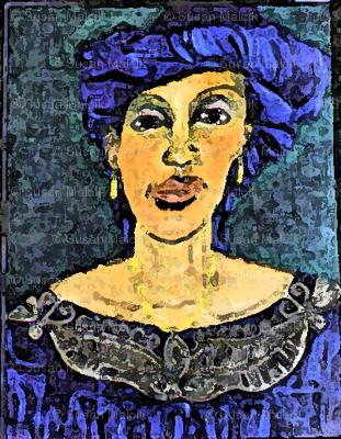 Lady of Goree Island, Senegal