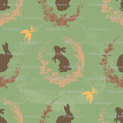 Jade Moon Rabbit - Spearmint