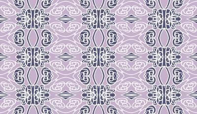 Swirls on Lilac