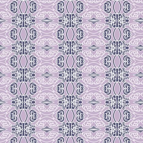 Swirls on Lilac fabric by kezia on Spoonflower - custom fabric