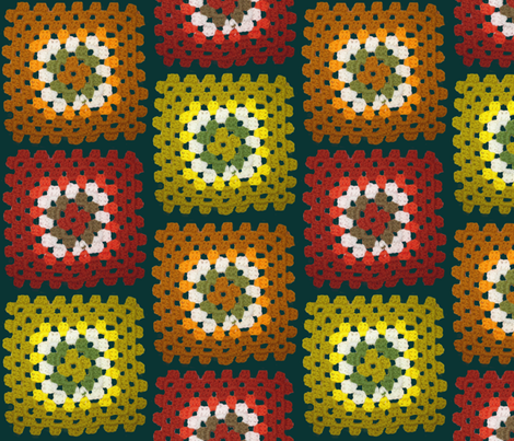 Crochet fabric by dolphinandcondor on Spoonflower - custom fabric