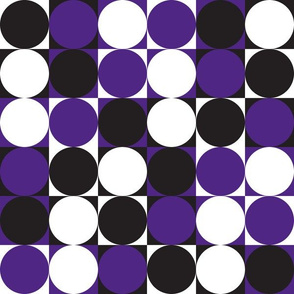 Circles & Squares Purple