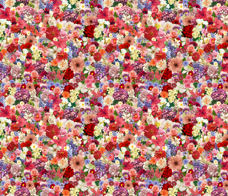 Flowers, flowers, flowers fabric by mwright22se on Spoonflower - custom fabric