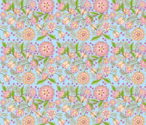 fleur_d_orient_pastel fabric by nadja_petremand on Spoonflower - custom fabric