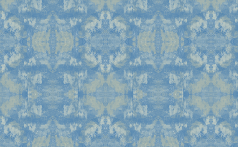 Nautical Blue Tie Dye fabric by poetryqn on Spoonflower - custom fabric